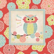 Owl 1 Frame Stephanie Marrott Art Print 12x12