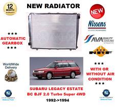 für SUBARU LEGACY KOMBI BC BJF 2.0 Turbo Super 4WD 1992- > 1994 NEU Kühler