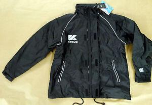 KooGa Auckland 2 Jacket Navy Medium Boys Rugby Training Waterproof Coat Hood