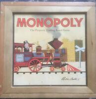 Monopoly Nostalgia Edition - Wooden Box Edition Board Game - 100% Complete