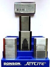 Ronson Jet lite JetLite Windproof Lighters Butane Torch Refillable Factory Seal