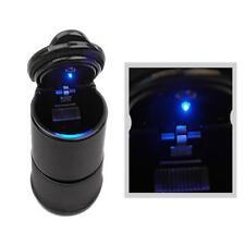 Car LED Smokeless Ashtray Travel Auto Cigarette Odor Smoke Remover Ash Holder GA
