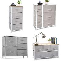 Chest 4-7 Drawers Bedside Dresser Furniture Bedroom Organize Storage Drawer Unit