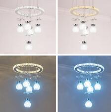 Dimmer LED crystal ceiling lamp modern bedroom Dining room pendant light Fixture