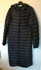 Donna Lungo Imbottito Mountain Warehouse Cappotto Invernale UK10 Nero