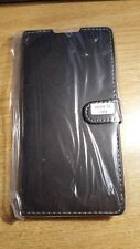 Book, wallet style PU leather flip case, cover to fit Sony Xperia T2 Ultra D5303