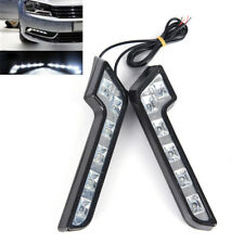 2 x Helle 6LED Super White Auto Driving Lampe Nebel 12V DRL Tagfahrlicht RH