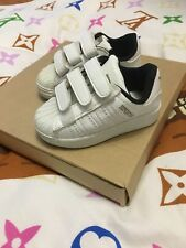 Baby Adidas White Superstar Trainers Size 21