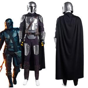 The Mandalorian S2 Beskar Armor Cosplay Costume Outfit Coat Suit Mask Full Set