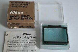 Nikon F4 Focusing Screen Type B