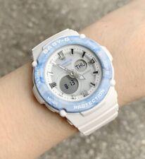 Casio Baby-G * BGA270M-7A Marbled Pastel Pink & Blue Bezel White Watch for Women