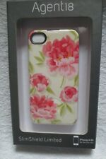Agent18 Iphone 4 4S Case Cover Protective Slim Shield Vintage Floral Pink New