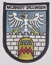 "Marine Aufnäher Patch Abzeichen MiJ-Boot ""Dillingen"" M1065 .........A2955"