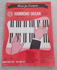 Music Everyone 89 Pcs Organ Sacred Pop Classics Unmarked