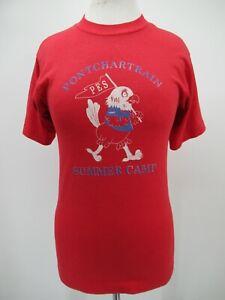 P5470 VTG 1997 Pontchartrain Summer Camp Chicken Souvenir T-Shirt