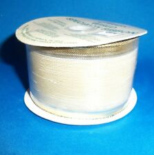 Berwick Gold Mesh Wired Ribbon Fabric Garland Roll 2 inches X 5 yards NEW