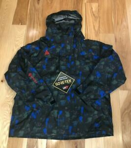Nike ACG Gore-tex All Over Print Jacket CI0427 416 Men's XL ($420) NWT