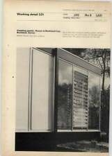 1969 Cladding Panels, House At Buckland Cop Surrey, Michael Manser