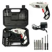 Cordless Drill Driver Rechargeable Electric Screw Drill Repair Tools Set