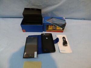 Black Nokia Lumia 520 Smartphone Touchscreen 8GB 512MB RAM Vodafone Locked Box