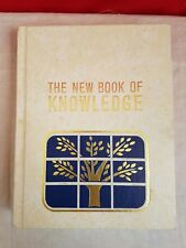The New Book of Knowledge Encyclopedia Hardcover 1979 -  A Vol 1