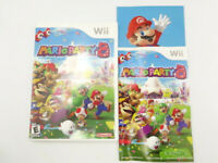 Nintendo Wii Mario Party 8 CASE & MANUAL ONLY No Game Disc