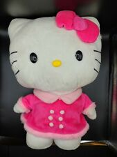 """Sanrio Hello Kitty Self Standing Holiday Greeter Plush Doll 20"""" Tall With Tag"""