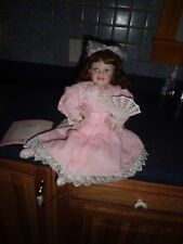 "The Ashton-Drake Galleries 16"" tall ""Magnolia Blossom""porcelain doll"
