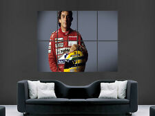 AYRTON SENNA  FORMULA ONE F1 LEGEND  WALL POSTER ART PICTURE PRINT LARGE  HUGE