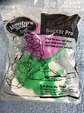 Two Arby's Adventure Meal Toys 2005 Soccer Pro & 2005 Adventure Spy