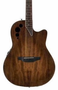 Ovation AE44-7S Standard Depth Acoustic Electric Guitar in Vintage Varnish