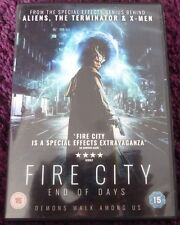 FIRE CITY END OF DAYS*DVD*ACTION*