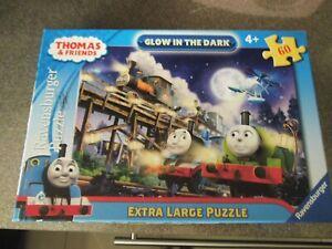 Thomas The Tank Engine Jigsaw. Glow In The Dark/60 XL Pieces