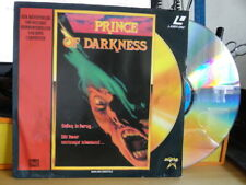 'Prince Of Darkness' 1987 Dutch Edition Laser Disc -PAL-