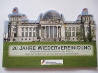 Deutschland, 20 Jahre Wiedervereinigung,postfrisches Markenheftchen 2000