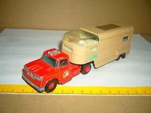 MATCHBOX-LESNEY King Size Dodge Tractor Articulated Horse Van, Sattelzug, K-18,