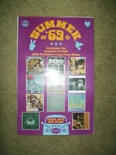 "Rhino Records     *PROMO POSTER*    ""Summer of '69""   11"" x 17"""