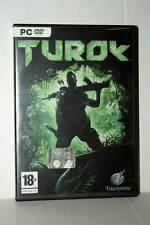 TUROK GIOCO USATO OTTIMO STATO PC DVD VERSIONE ITALIANA GD1 42493