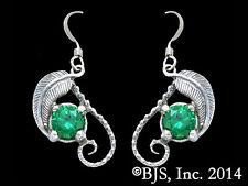Mirkwood Elven Earrings, Emeralds of Girion, Hobbit Jewelry, Lord of the Rings