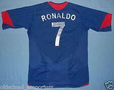 Manchester Utd / 2005-2006 Away  - RONALDO #7 NIKE - Shirt / Jersey. Age: 12/13