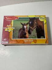 Melissa & Doug 60 Piece Jigsaw Puzzle Mare & Foal Brand New Sealed