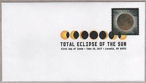 US 2017 SOLAR 5211 TOTAL ECLIPSE OF THE SUN  FOREVER STAMP DCP FIRST DAY COVER