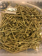 5 Lbs Of 3 Inch Gold Deck Screws With Torx 25 Star Bit Included