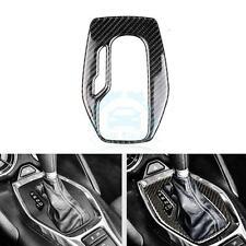 1PC Carbon Fiber Interior Gear box Panel Cover Trim For Chevrolet Camaro 2016-