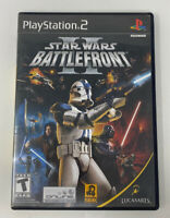 Star Wars: Battlefront II 2 PS2 (PlayStation 2, 2005) Complete Tested Working