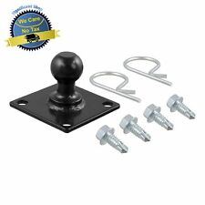 """Trailer Camper Tongue Ball Mounted Plate Friction Sway Control Bar Hitch 1 1/4"""""""