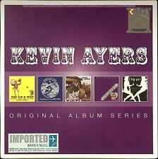 KEVIN AYERS Original Album Series 2014 MALAYSIA EU EDITION 5 CD SET NEW SEALED
