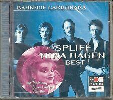 Spliff / Nina Hagen Bahnhof Carbonara  (Best) Zounds CD Neu OVP Sealed OOP