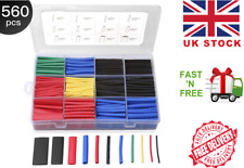 Heat Shrink Tubing 560 Pc Electric Insulation Tube Heat Shrink Wrap Cable Sleeve