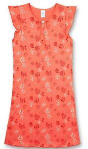 Sanetta Girls Nachthemd weiß Blumenover  Gr 140 164  176 UVP 25,99 €